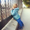 Watching for trains.  #mommylife #paris #BebeCheri #trains #thisisparis #inlove