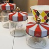 I NEED these pots from @alessi_official!!!! #circus #carousel  #MerryGoRound #iwant #redandwhite #formykitchen