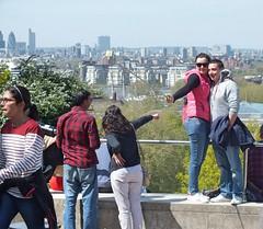 Selfie Stick Girl - Greenwich