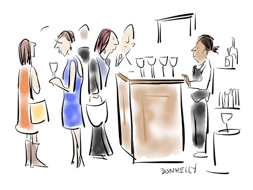 ICFJ 2016 Awards Dinner, Cartoons by Liza Donnelly