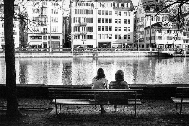 sit and watch the river