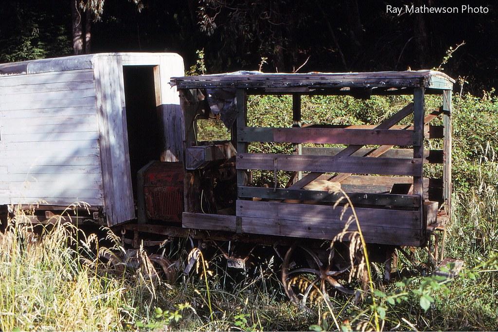 abandoned railcar Te Whetu Jan 1970 Amodel T perhaps.
