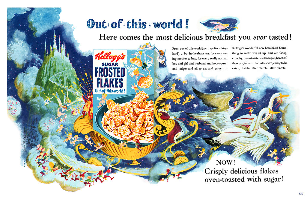 1955 ... enchanted land of corn-flakes!