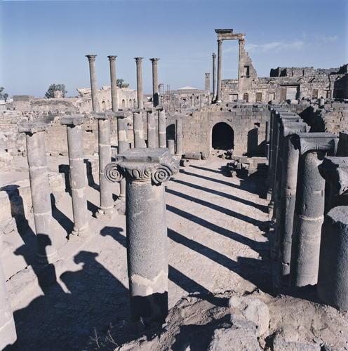 布斯拉(Bosra)古城。圖片來源:UNESCO,Yvon Fruneau攝。