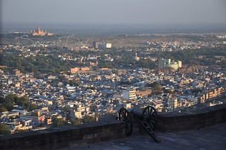 Image of Mehrangarh near Jodhpur. india fort rajasthan jodhpur