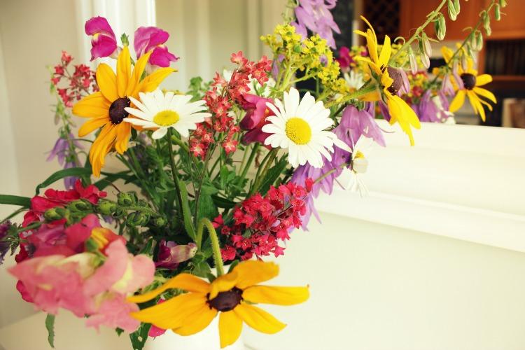 my garden in a vase