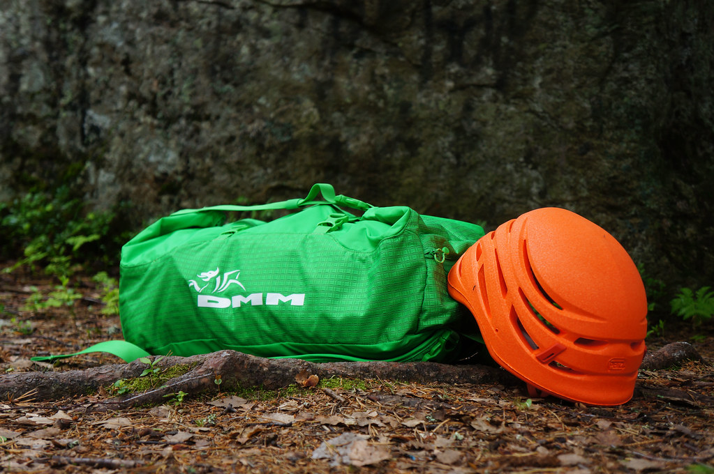 DMM Classic Rope Bag + Petzl Sirocco