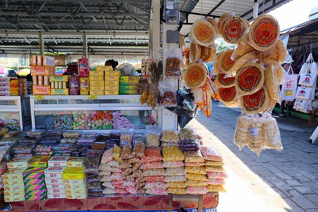 Prambanan Market - foodstuff