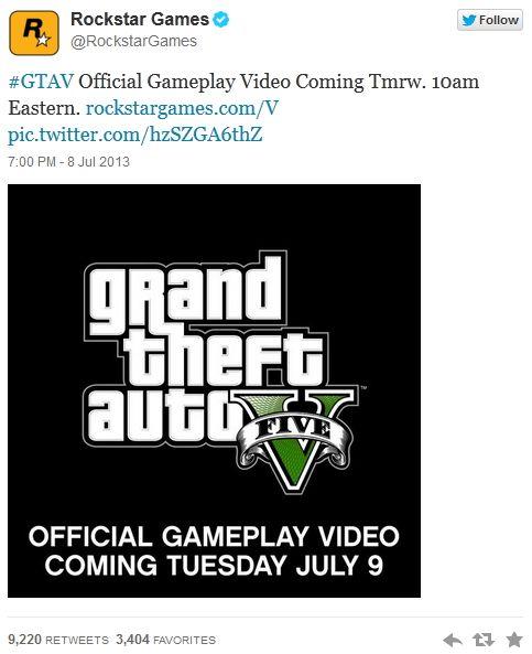 Геймплей-трейлер GTA 5
