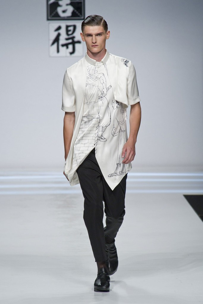 SS14 Milan Ji Wenbo037_Alexander Beck(fashionising.com)