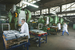 Imagen del área de producción de Quality Espresso./ Imatge de l'àrea de producció de Quality Espresso.