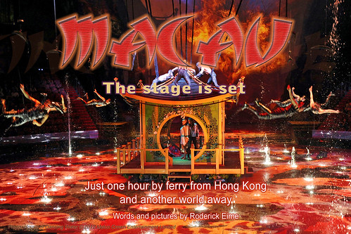 Macau - the stage is set