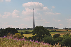 from Emley Village to Emley Moor