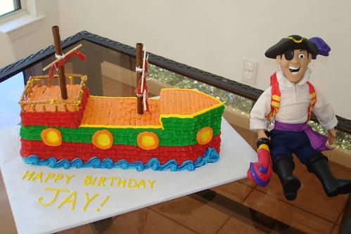 3D Pirate Cake