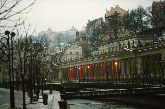 Karlovy Vary spa city Western Bohemia Czech Republic 1998 027