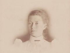 Miss Ella M W Hawkins, 1897.