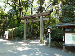 garden, pavilion, shinto shrine, torii,