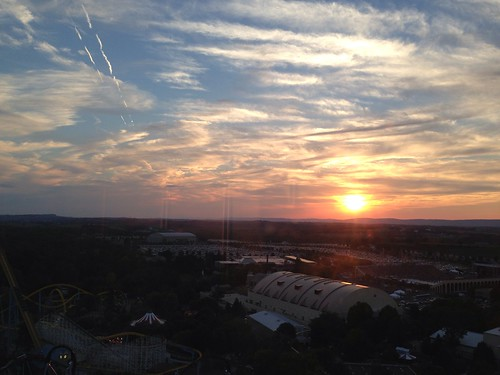Kissing Tower Sunset View of Hershey