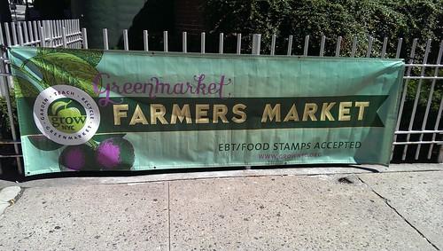 GrowNYC Farmers Market on 57th