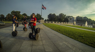 Segway Tour at WWII Memorial