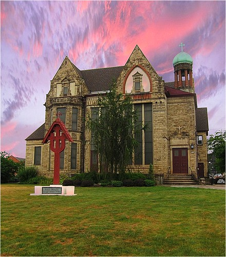 Holy Trinity Church Youngstown Ohio ~ Former Victorian Mansion ~ Charles D. Arms ~ Youngstown, Ohio