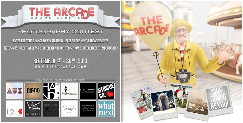 The Arcade Photography Contest - September 2013
