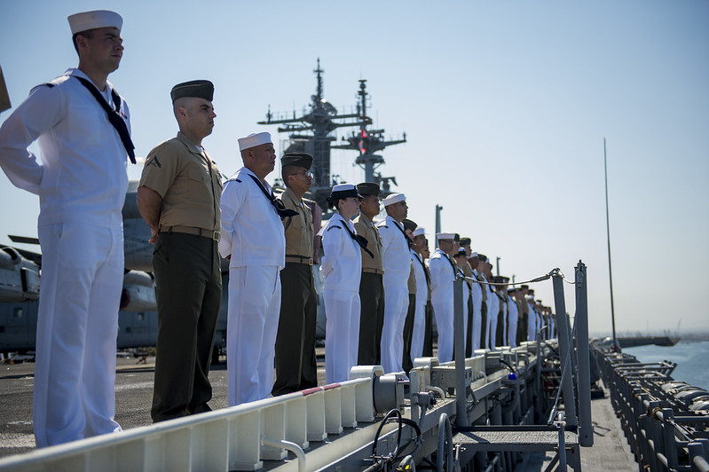 USS BOXER ARG Departs for Scheduled Deployment