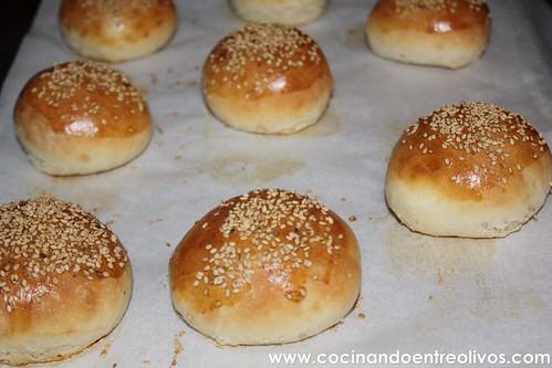 Panecillos de hamburguesas www.cocinandoentreolivos (5)