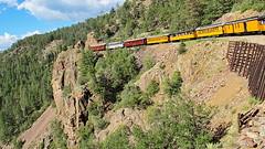 Durango & Silverton Narrow Gauge Railroad cars