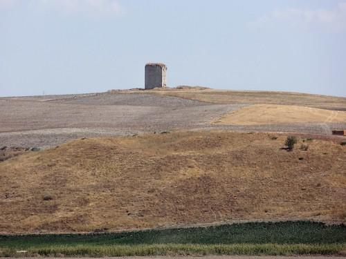 Torre del Aguila, Arab castle ruin