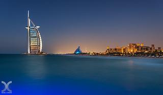 Burj Al Arab from a jetty
