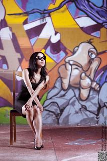 Graffiti y chica guapa 2