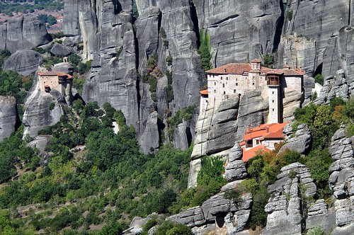 ancient greece monastery meteora