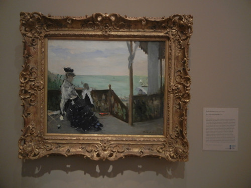 DSCN7789 _ In a Villa at the Seaside, 1874, Berthe Morisot (1841-1895), Norton Simon Museum, July 2013
