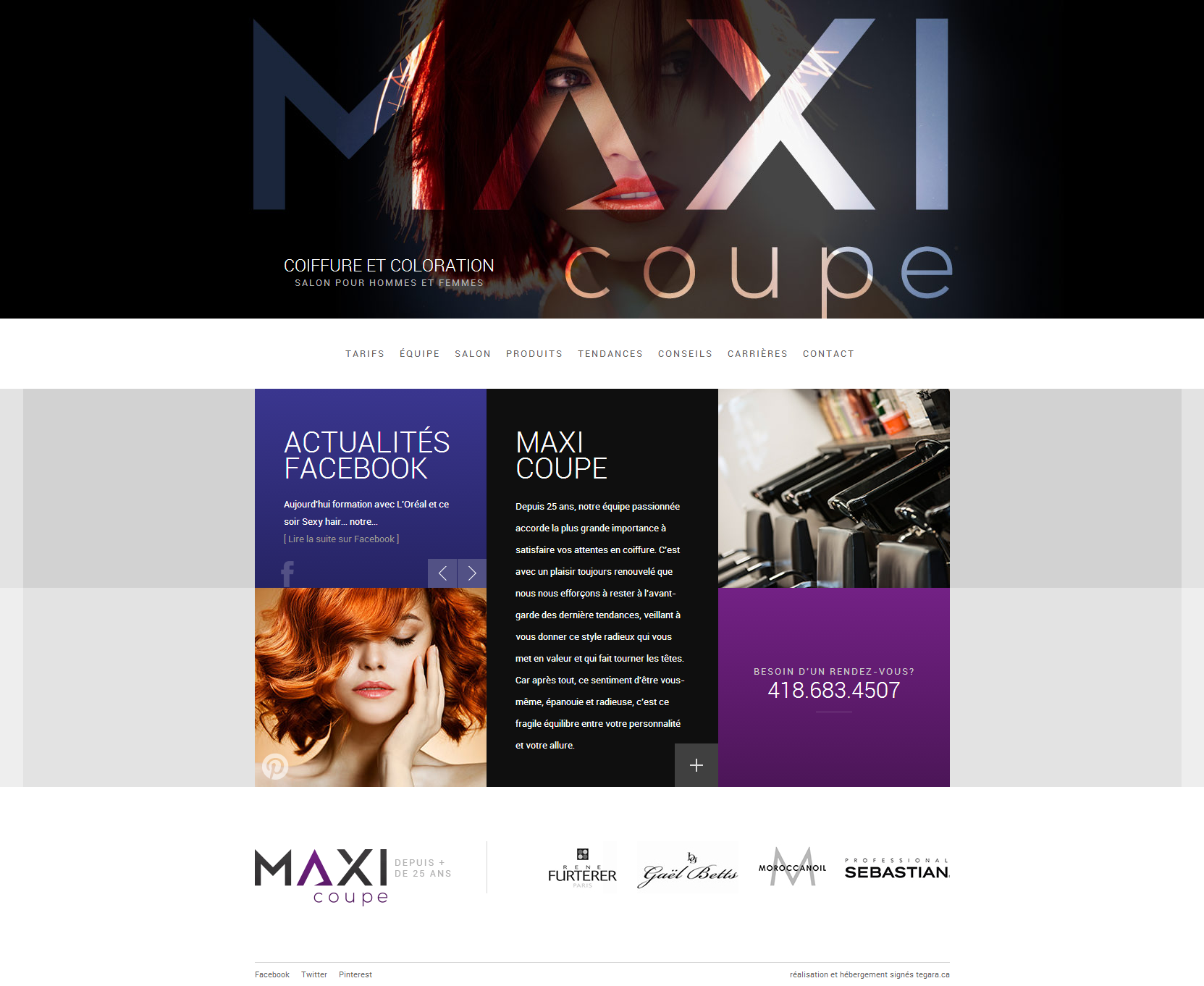 Maxi Coupe Beautiful Health Website
