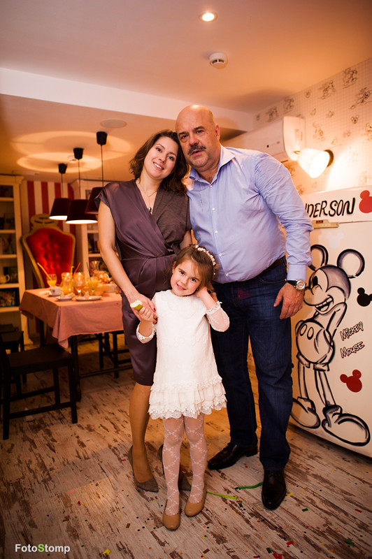 Фотосъемка детского Дня Рождения в кафе Андерсон Для Пап. Фотограф Ирина Марьенко.
