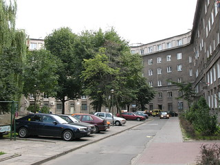 A view of Nowa Huta, Krakow, Poland