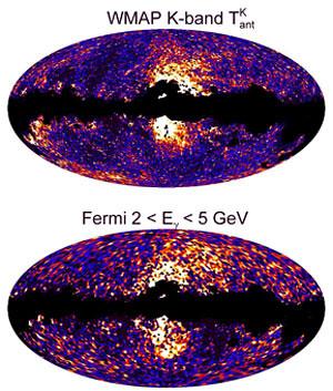 WMAP/Fermi bubbles