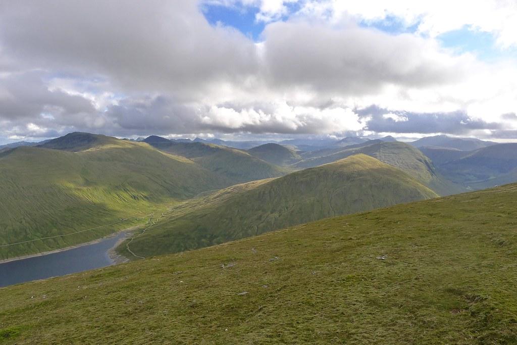 Tyndrum Hills from Beinn Mhanach