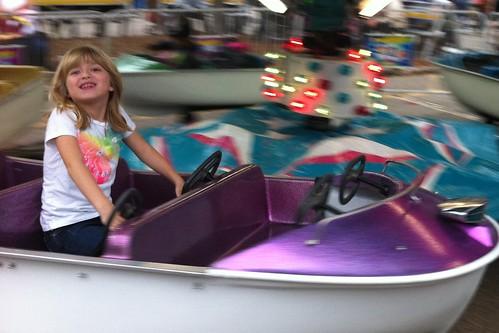 boat ride at the fair
