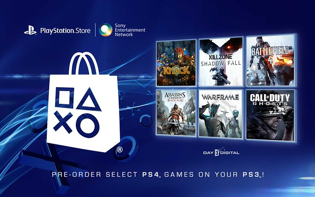 PS4 Game Pre-orders