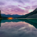Lake Louise Dawn Symmetry by Panorama Paul
