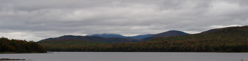 autumn trees lake mountains fall water clouds forest pond woods unitedstates pano maine panoramic foliage greenville em5 firstroach 14140mm