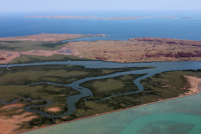 Karratha Australia  city photo : Coastline near Karratha, Western Australia from the Air | Flickr ...