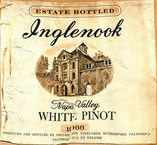 USA - Inglenook White Pinot 1966