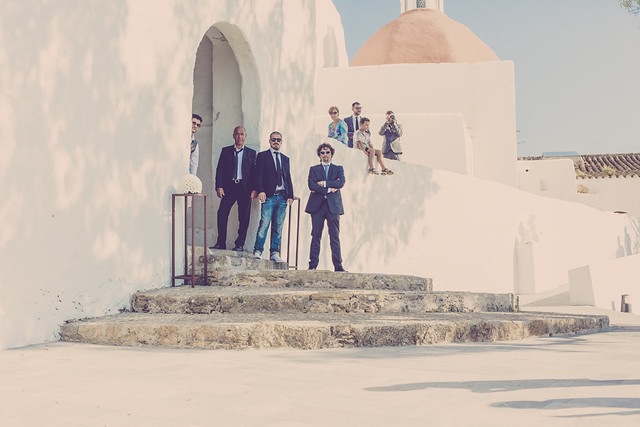Ambra & Giuseppe, real Ibiza wedding