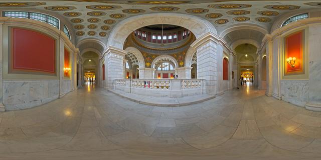 RI State Capitol - Upper Balcony