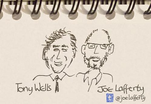 Sketch of Joe & Tony
