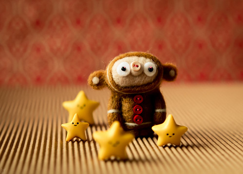 Gingerbob in the company of stars