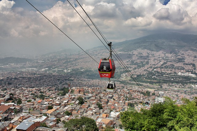 Metrocable Medellin. Image by morrissey via Flickr.